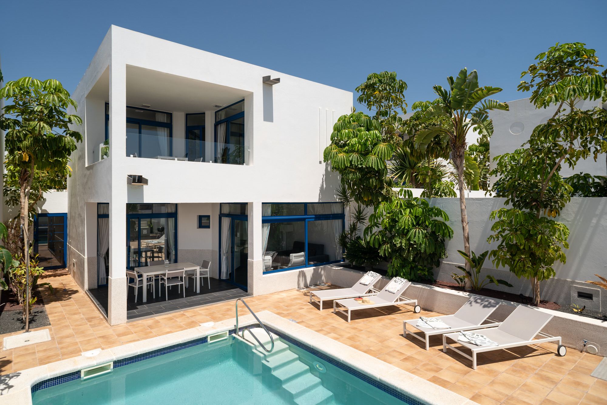 Lanzarote Luxury Villa With Private Pool In Playa Blanca