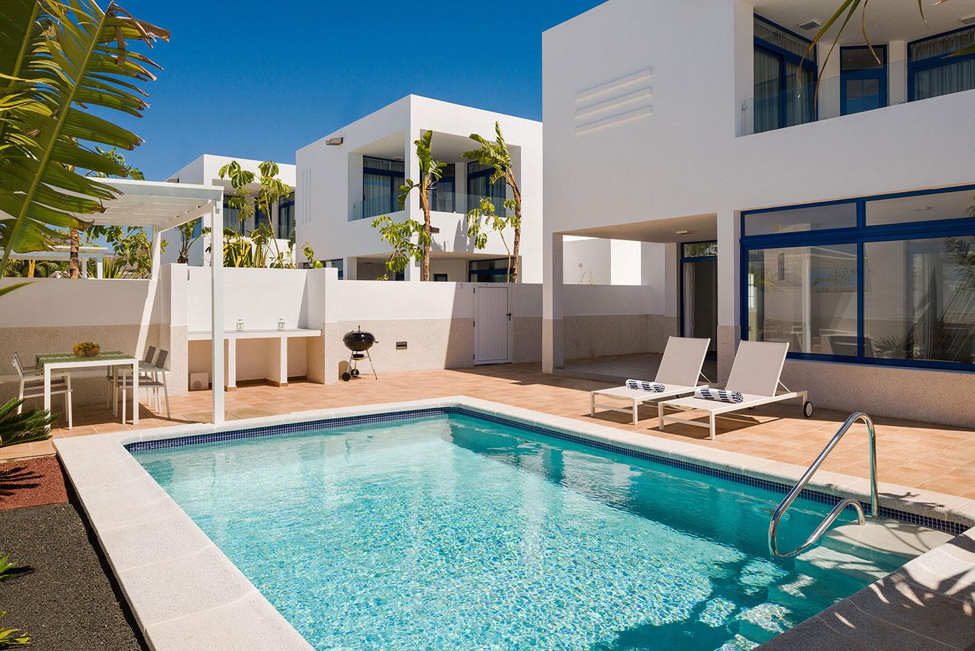 Lanzarote Villa With Private Pool In Playa Blanca Villas