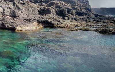 Los Charcones – The natural pools of Playa Blanca