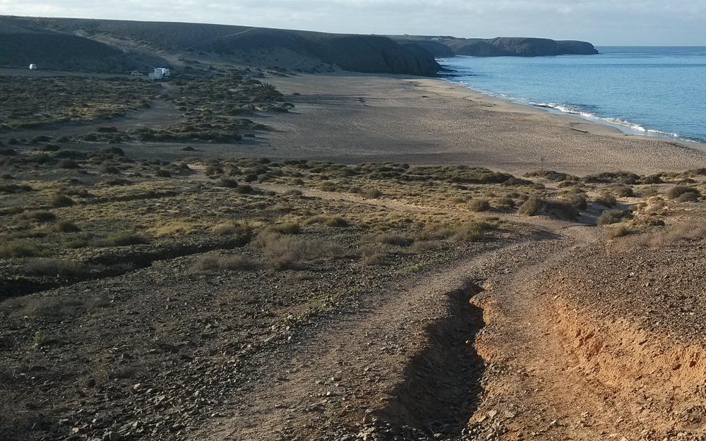 Playa Blanca has some of the best running routes in Lanzarote