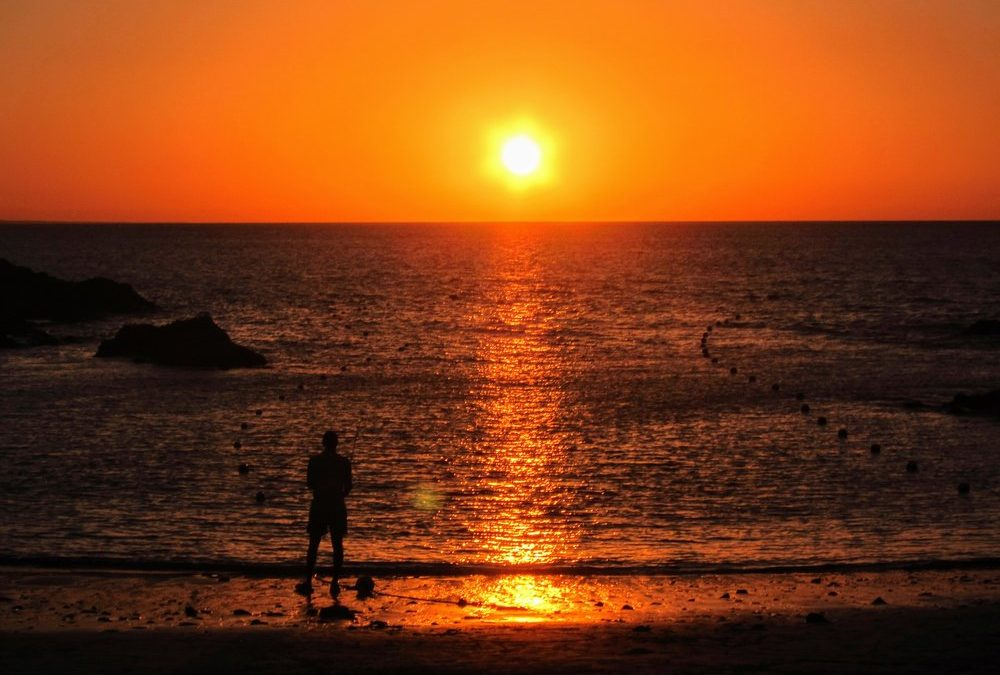 Must do in Lanzarote: Sunset in Papagayo Beach