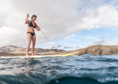 Stand-up paddle on the Chill Out Cruise