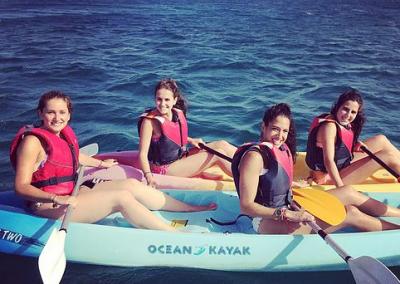 Kayaking from Marina Rubicón